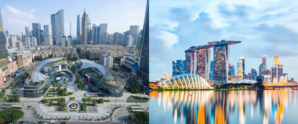 新加坡到广州/广州到新加坡海运搬家
