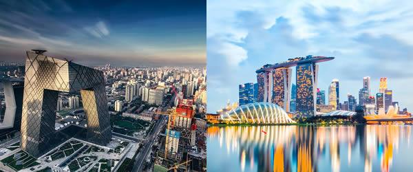 新加坡到北京/北京到新加坡海运搬家