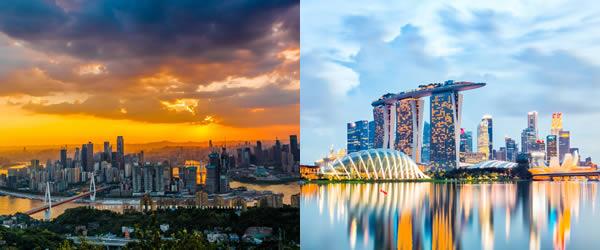 新加坡-重庆