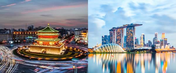 新加坡-西安