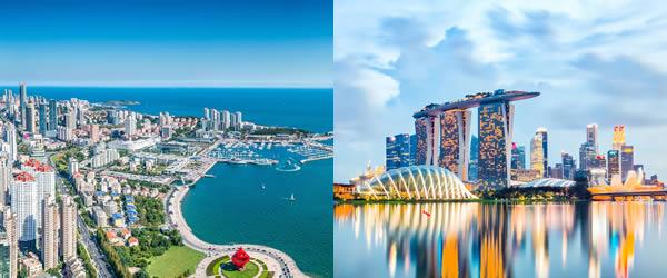 新加坡-青岛
